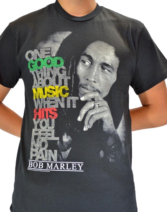 0e339da8f Good Music Hits Tee - Bob Marley T-Shirts | ShopRockAmerica.com