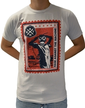 Postage Stamp-Rage Against the Machine Rock T-Shirts
