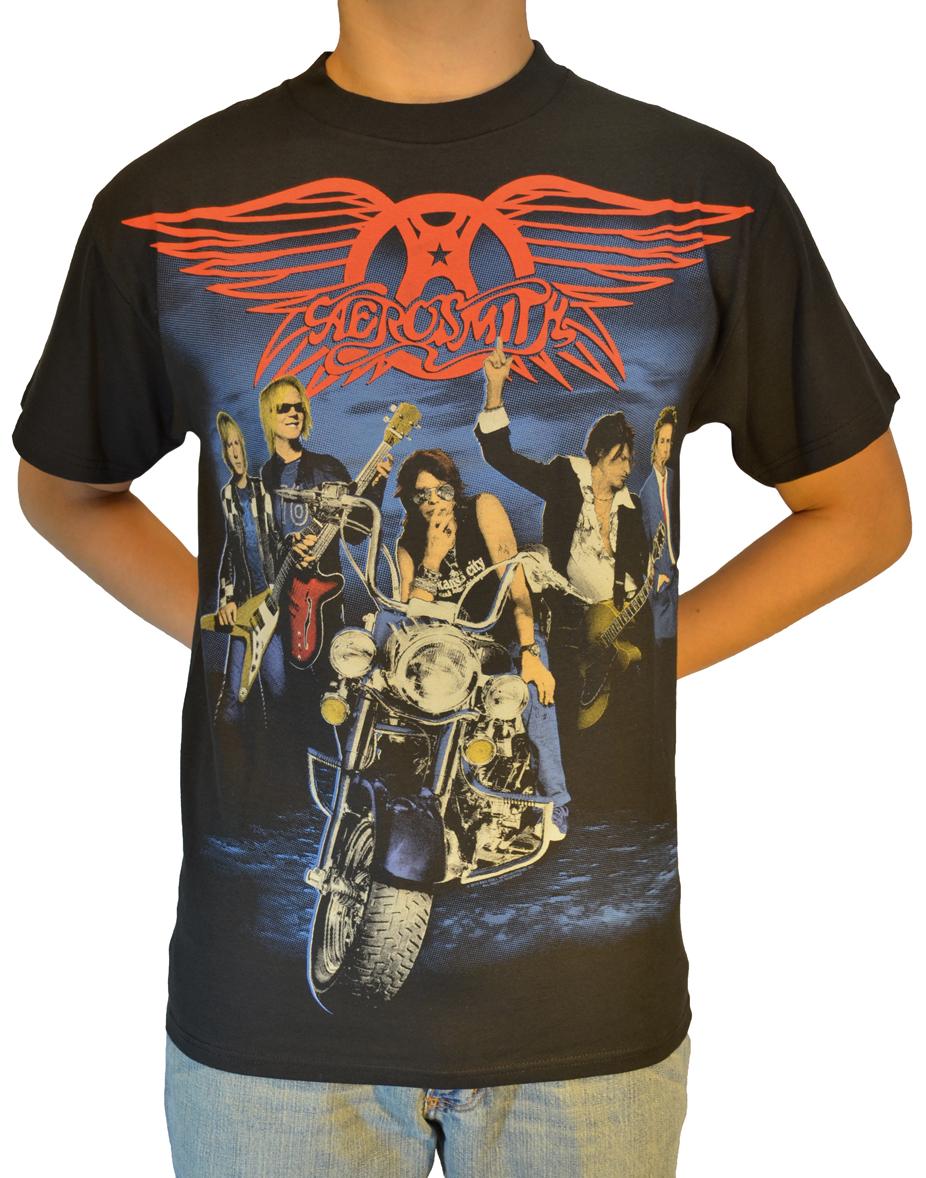 Draw The Line Aerosmith T Shirts Shoprockamerica Com