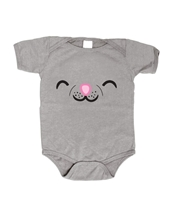 Soft Kitty Face Infant Romper - Big Bang Theory Baby Wear