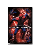 Amazing Spiderman Action Poster