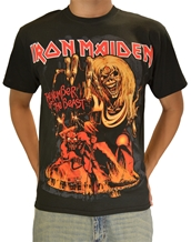 Number of the Beast-Iron Maiden Rock T-Shirts