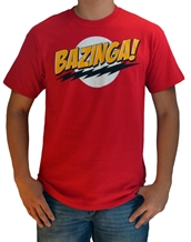 Bazinga! Red Tee