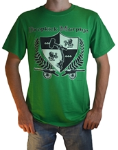 Coat Of Arms Tee - Dropkick Murphys T-Shirts