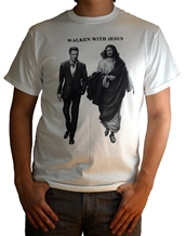 Walken With Jesus - Christopher Walken T-Shirts