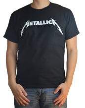 Metallica Black and White Logo