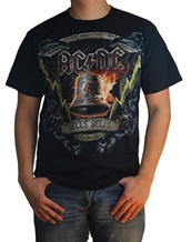 Hells Bells Shield - AC/DC T-Shirts