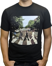 Abbey Road Distressed BRA - Beatles T-Shirts