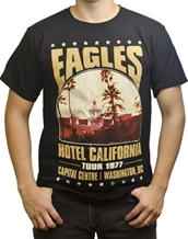 Hotel CA Tour 1977 - Eagles T-Shirts