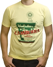 Holiday In Cambodia-Dead Kennedys Rock T-Shirts