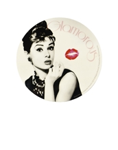 Audrey Hepburn Kiss Sticker