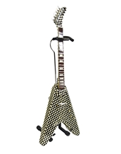 Rick Nielsen Checkered V Mini