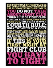 Fight Club 8 Rules