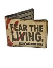 Fear the Living Bi-Fold Wallet
