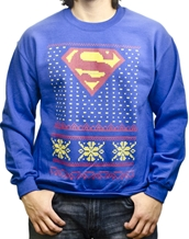 Christmas Crewneck Superman