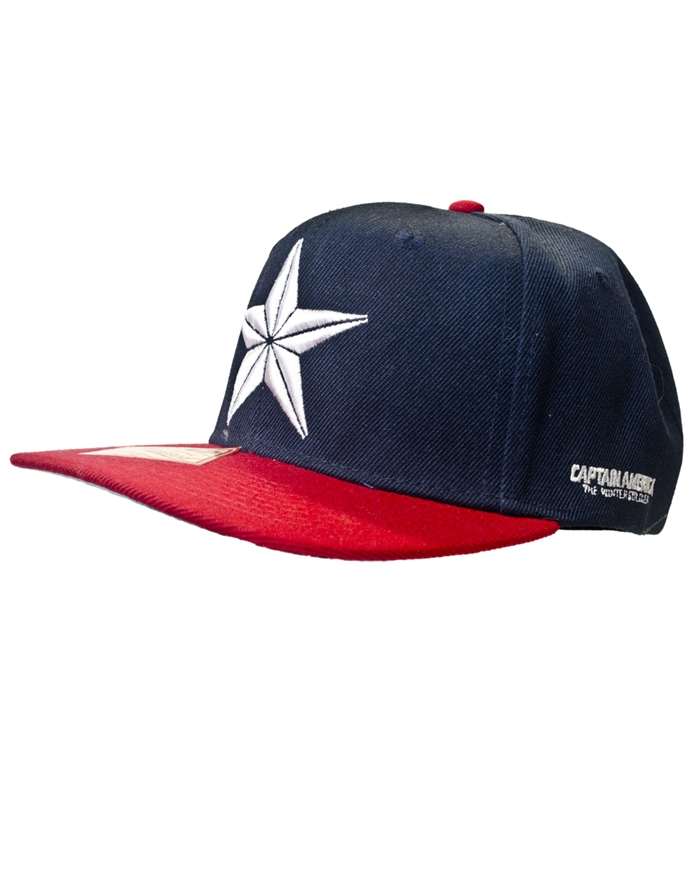 Captain America Star Snapback