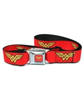 Wonder Woman Logo Seatbelt Belt