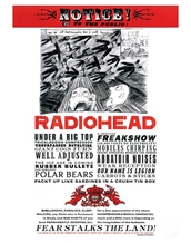 Fear Radiohead Poster
